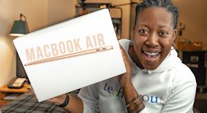 Megérkeztek az első unboxing videók a 2018-as MacBook Air-ről
