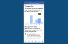 Mostantól az is megmondja a Facebook alkalmazása, hogy mennyit lógsz rajta