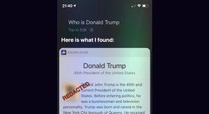 Meg ne kérdezd Siritől, hogy kicsoda Donald Trump! (NSFW)
