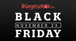 Black Friday: ütős akciókkal vár az iKiegészítők.hu