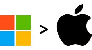 Kis időre, de visszaszerezte rég elvesztett trónját a Microsoft