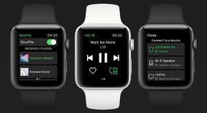 Jövő héten érkezik az Apple Watch-ra a Spotify