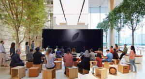 Kellően felkészült az Apple a hétfői médiaeseményre, még az üzleteikben is közvetíteni fognak