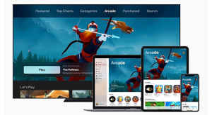 Az Apple a negyedik legnagyobb gaming szolgáltatóvá nőtte ki magát