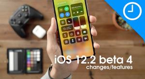 Videón az iOS 12.2 negyedik bétájának újdonságai