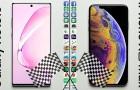 Sebességteszt: Galaxy Note 10+ vs iPhone Xs Max – új bajnok a láthatáron