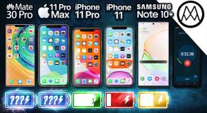 Üzemidőteszt: túlszárnyalja vetélytársait az iPhone 11 Pro szériája