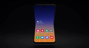 Hosszában hajtható okostelefonon dolgozik a Samsung
