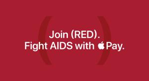 Minden Apple Pay és App Store vásárlás után egy dollárt adományoz a RED számára az Apple a következő hét folyamán