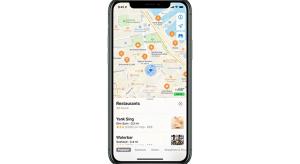 Itt az újratervezett Apple Maps…