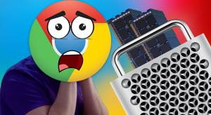 Mire elég a Mac Pro 1,5TB memóriája a Google Chrome-mal szemben?
