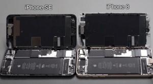 Szinte teljesen megegyezik az új iPhone SE belső felépítése az iPhone 8-cal