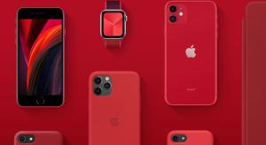 Szeptember végéig a koronavírus ellen fordítja a Product RED bevételeit az Apple