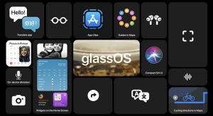GlassOS 14 – ilyen lehetne az Apple okosszemüvegének az interfésze