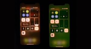 Bezöldül az iPhone 11 felhasználói felülete iOS 13.5 alatt