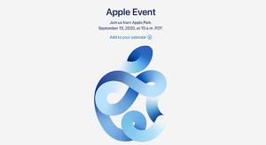 Az Apple kiküldte hivatalos meghívóját a szeptember iPhone 12 médiaeseményre
