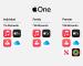 Ennyibe kerülnek Magyarországon a különböző Apple One csomagok
