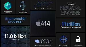 Szép teljesítménynövekedést hozott a Geekbench alapján az új iPad-ben lévő A14-es chip