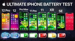Üzemidőteszt: iPhone 12 Pro, 12, 11 Pro Max, 11 Pro, 11, Xr és SE