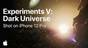 Dark Universe – ennél hangulatosabb iPhone 12 videó nem sok készül majd