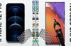 Sebességteszt: iPhone 12 Pro vs Galaxy Note 20 Ultra – avagy hogyan teljesít egymással szemben a két bajnok?