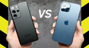 Ejtési teszt: iPhone 12 Pro Max vs Galaxy S21 Ultra, avagy mennyire bírja a strapát a Gorilla Glass Victus?