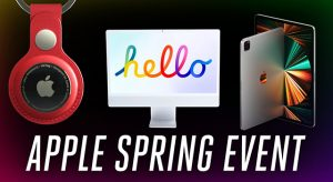 Nézd vissza az Apple Spring loaded médiaeseményét 11 perc alatt