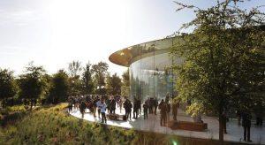 2022 elején térhet vissza az élet az Apple Parkba