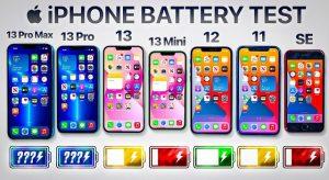 Üzemidőteszt: iPhone 13 széria, 12, 11 és SE