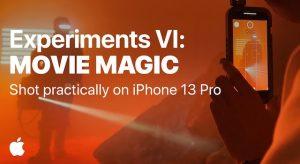 Movie Magic – ennél hangulatosabb iPhone 13 Pro videó nem sok készül majd